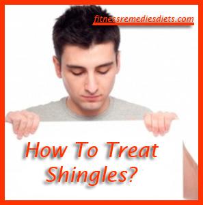 how to treat shingles